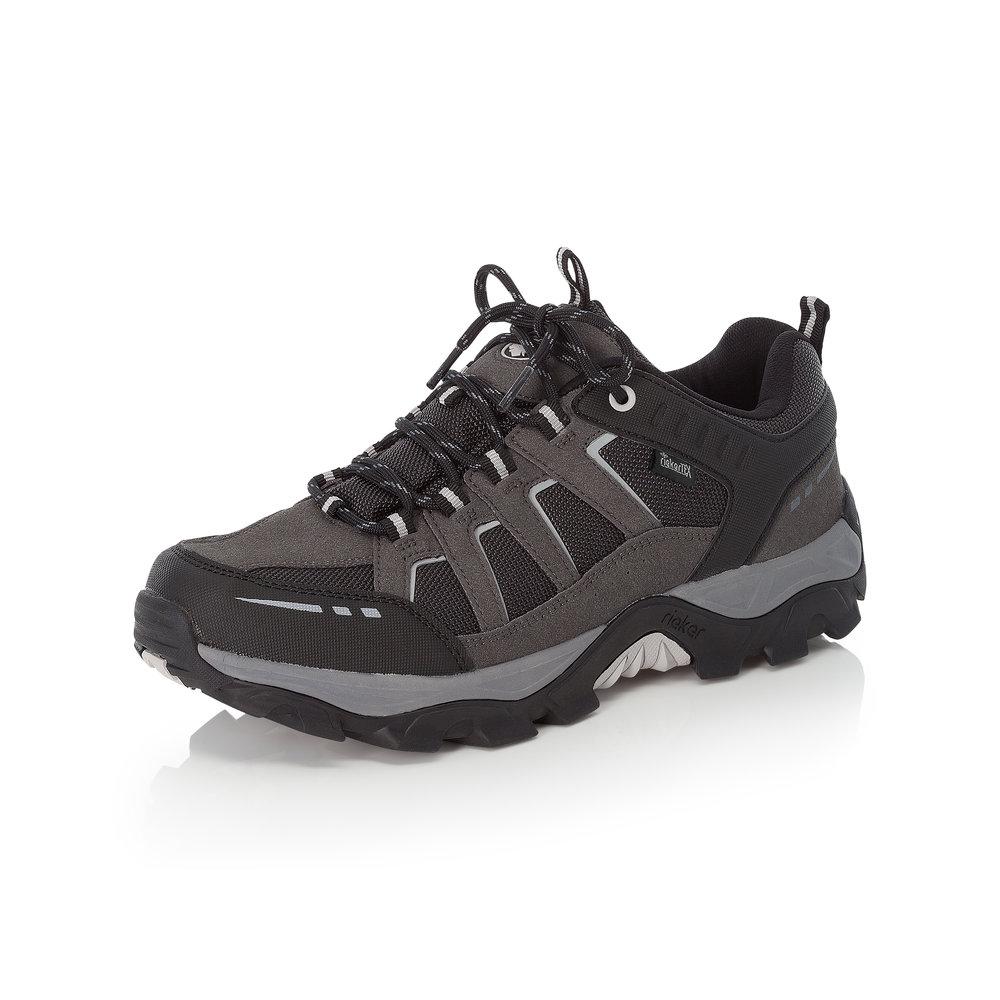 Rieker Mens B8820-02 Black lace walking shoe Sizes - 41 to 46 Price- £69