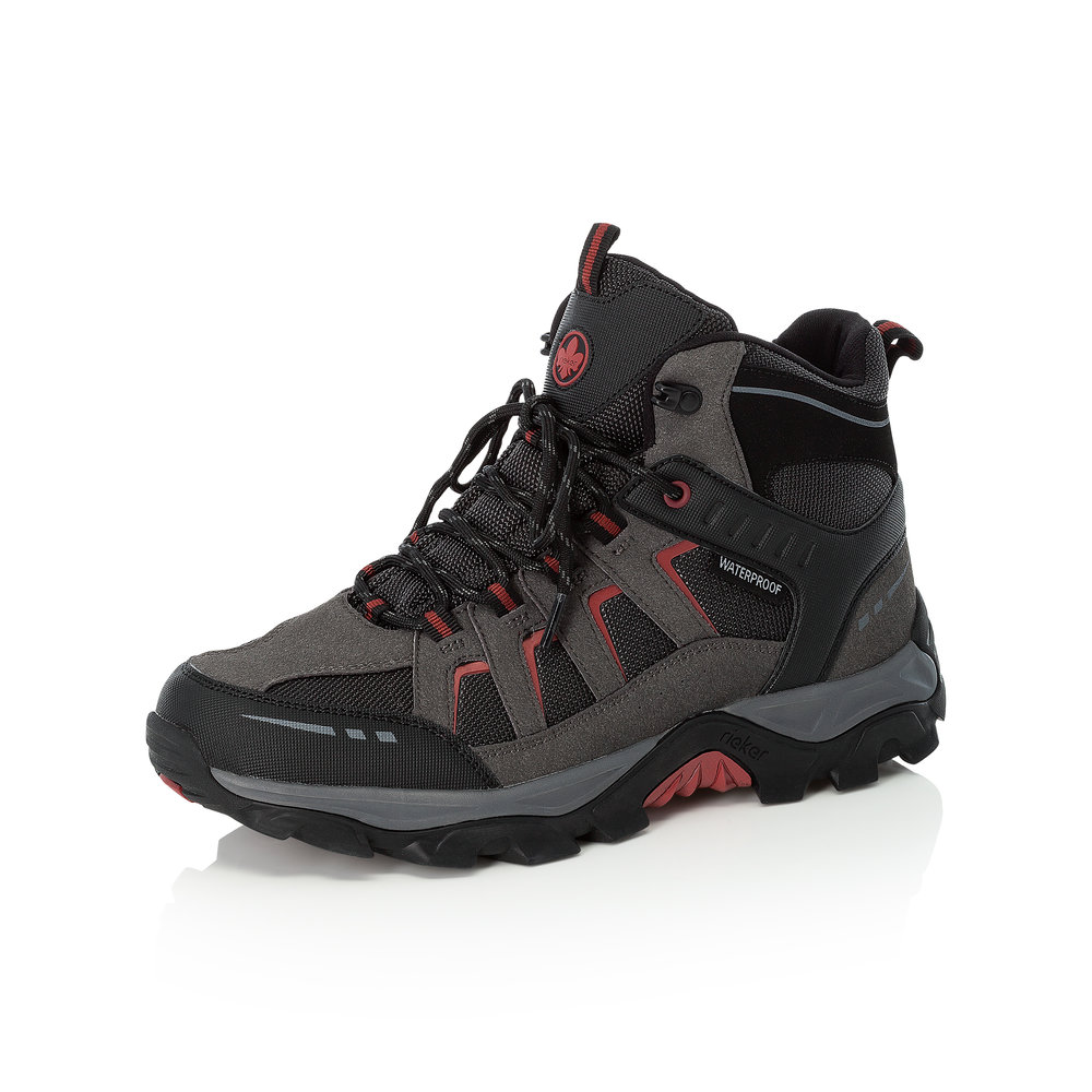Rieker Mens F8820-00 Black lace Tex walking boot   Sizes - 42, 43 and 44.   Price - £75