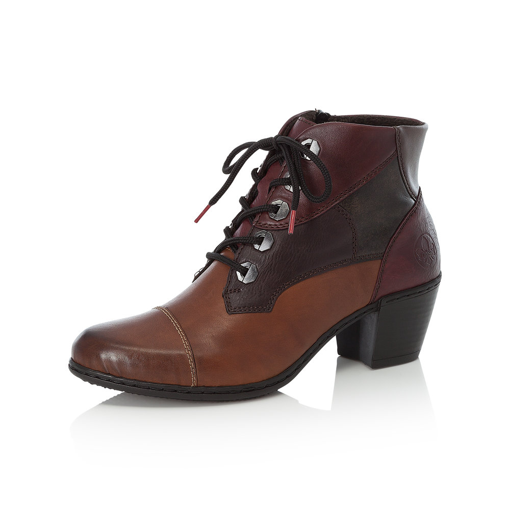 Rieker Y2133-24 Brown zip/lace boot   Sizes - 38, 40 and 41.   Price - £67 NOW £49