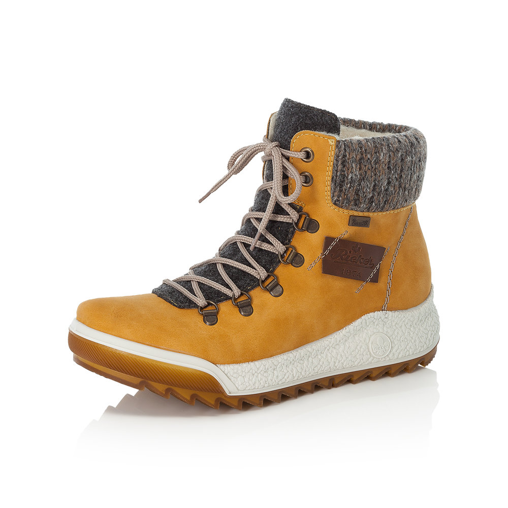 Rieker Y4730-68 Yellow lace boot Sizes - 37 to 41 Price - £69
