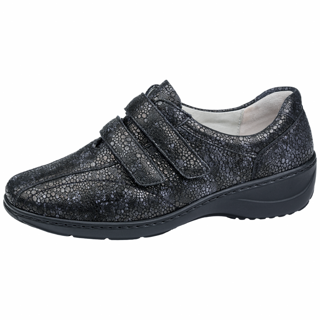 Waldläufer 607302 Black Velcro Shoe Sizes - 4.5 to 7 Price - £75