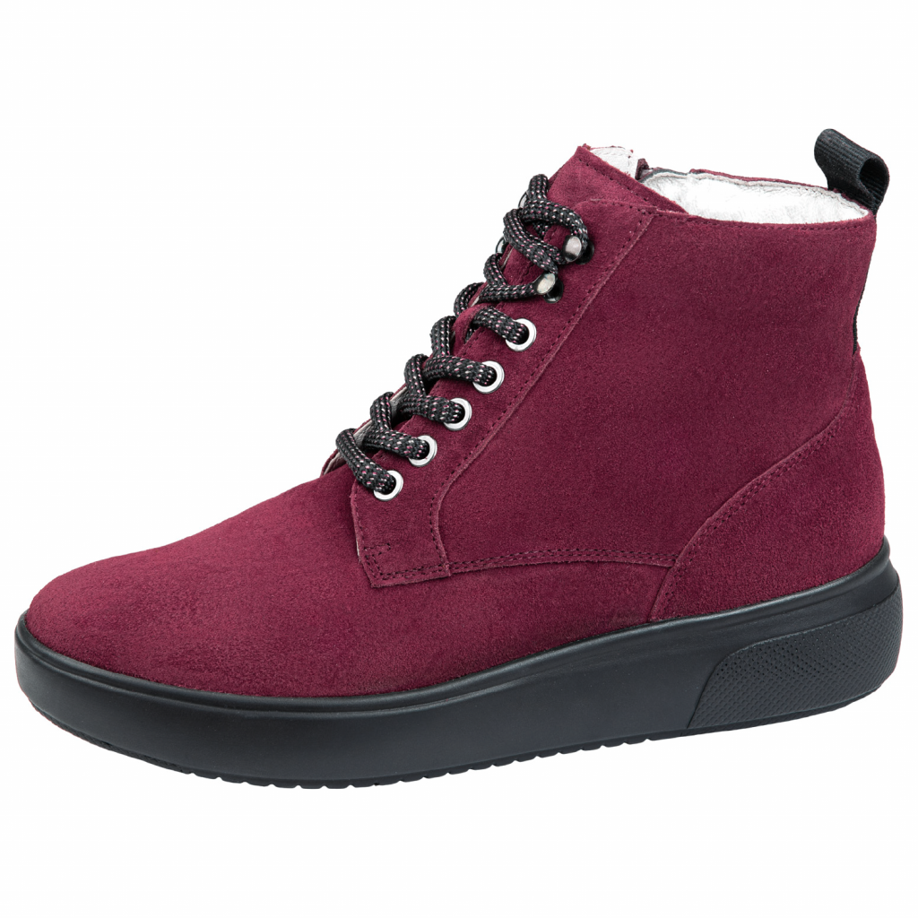 Waldläufer 763701 Red suede lace Boot   Sizes - 4.5 and 7 only.   Price - £75 NOW £55