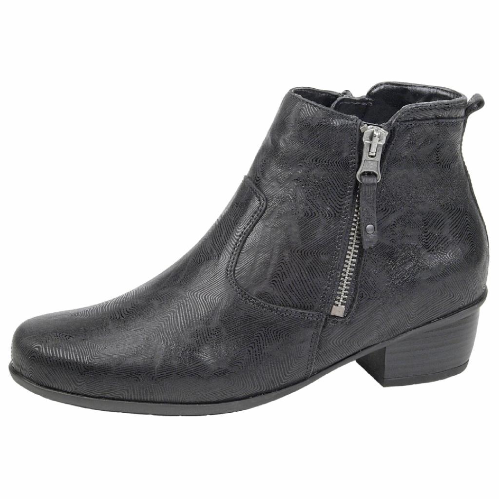 Waldläufer 967803 Black Zip Boot Sizes - 4.5 to 7 Price - £95