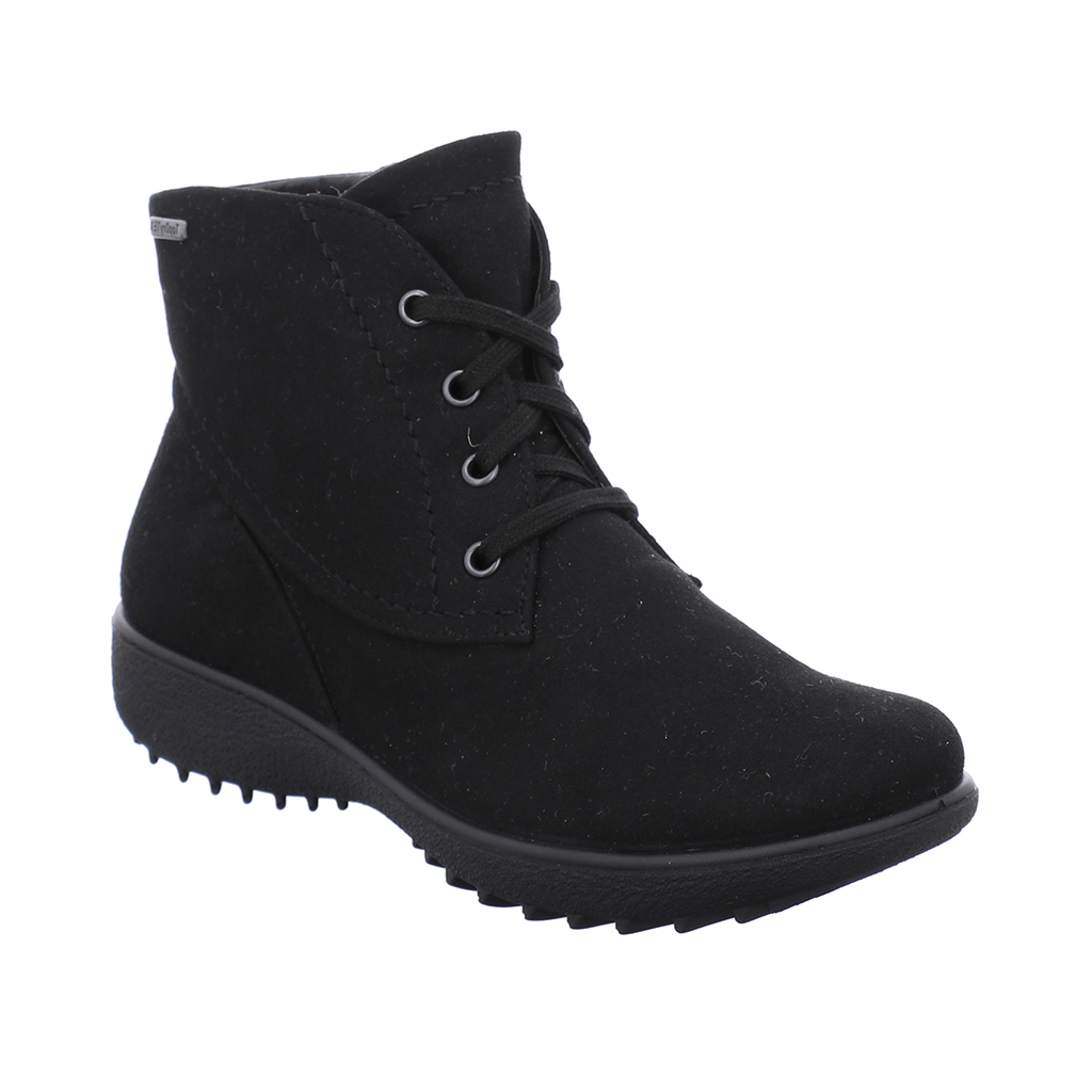 Westland Oceans 126 Black Tex zip/Lace Boot   Sizes - 38 to 41    Price - £75 NOW £49
