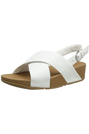 FitFlop Lulu Cross white sandal.   Sizes - 4, 5, 6, 6.5 and 7.   Price - £75 Now £49