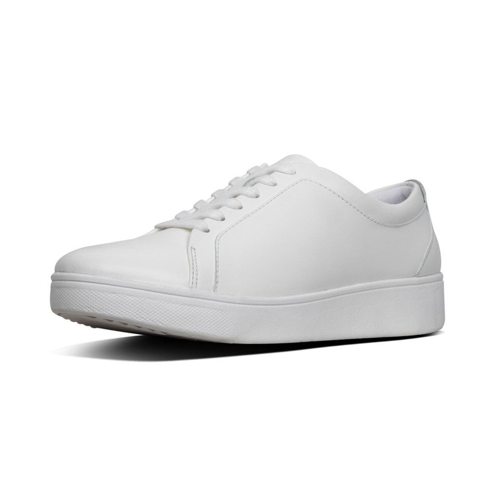 FitFlop Rally Sneaker white lace.  Sizes - 4, 5 and 6.5.   Price - £80 Now £59