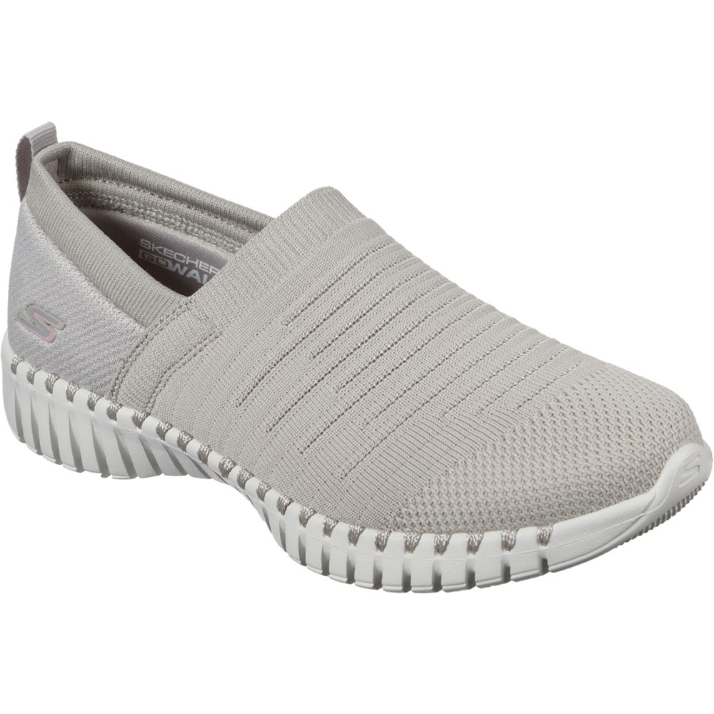 Skechers 124043 Go Walk Beige casual. Sizes - 4 and 7 only. Price - £65 Now £49