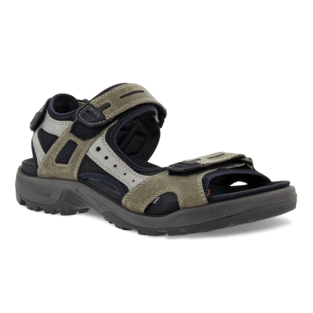 Ecco Mens 069564 Offroad olive / grey hiker sandal  Sizes - 41 to 45  Price - £90
