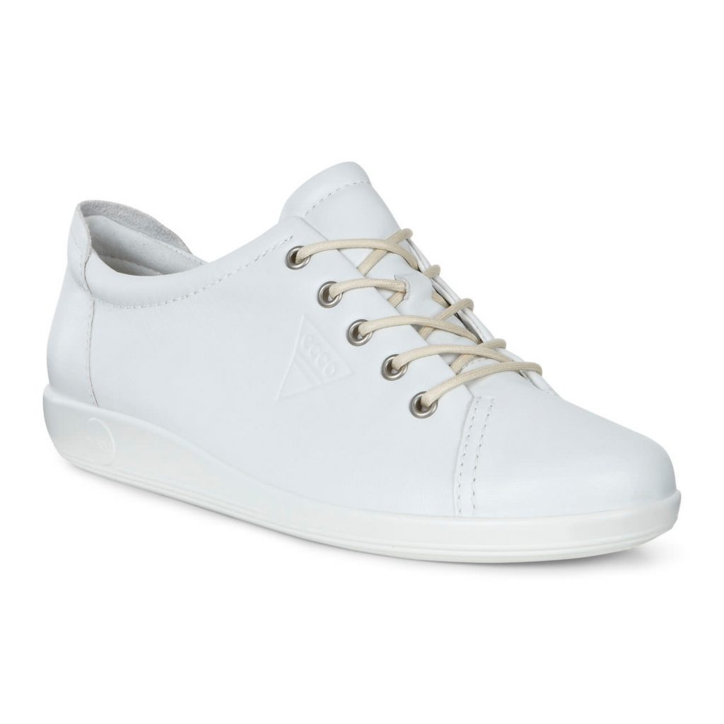 Ecco 206503 Soft 2 White leather lace  Sizes - 37 to 42  Price - £85