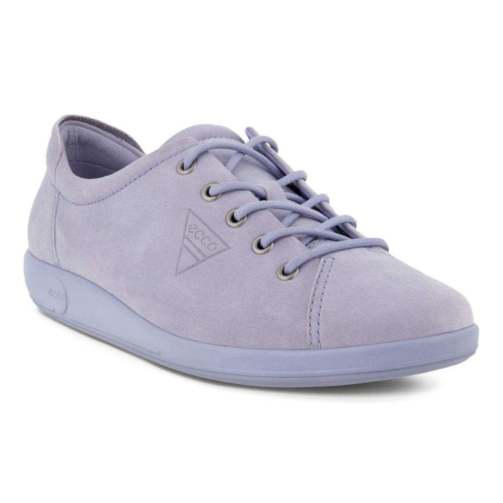 Ecco 206503 Soft 2  Crocus nubuck lace  Sizes - 37 to 41  Price - £85