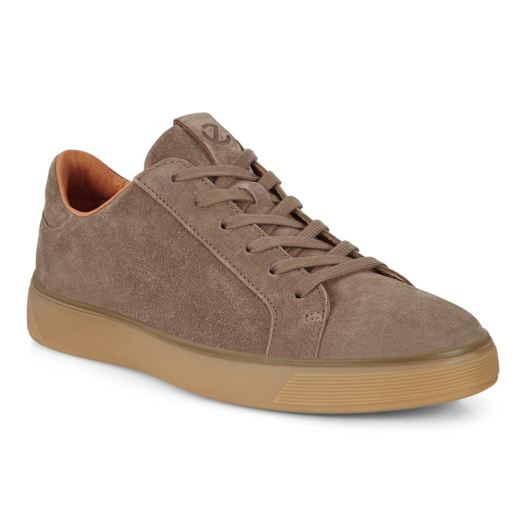 Ecco Mens 504564-05114 Street Tray Navajo suede lace  Sizes - 41 to 45  Price - £120