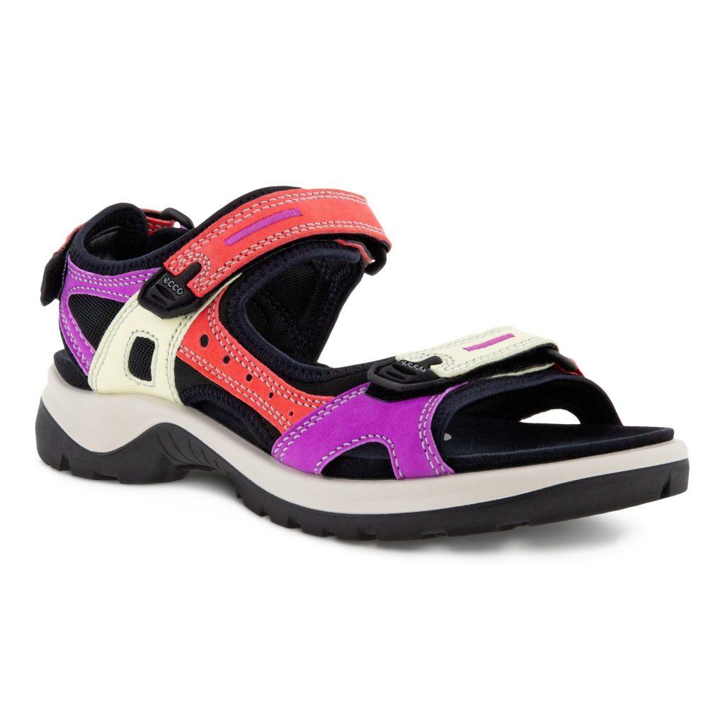 Ecco 822083 Offroad Bright Multi sandal  Sizes - 37 to 41  Price - £95
