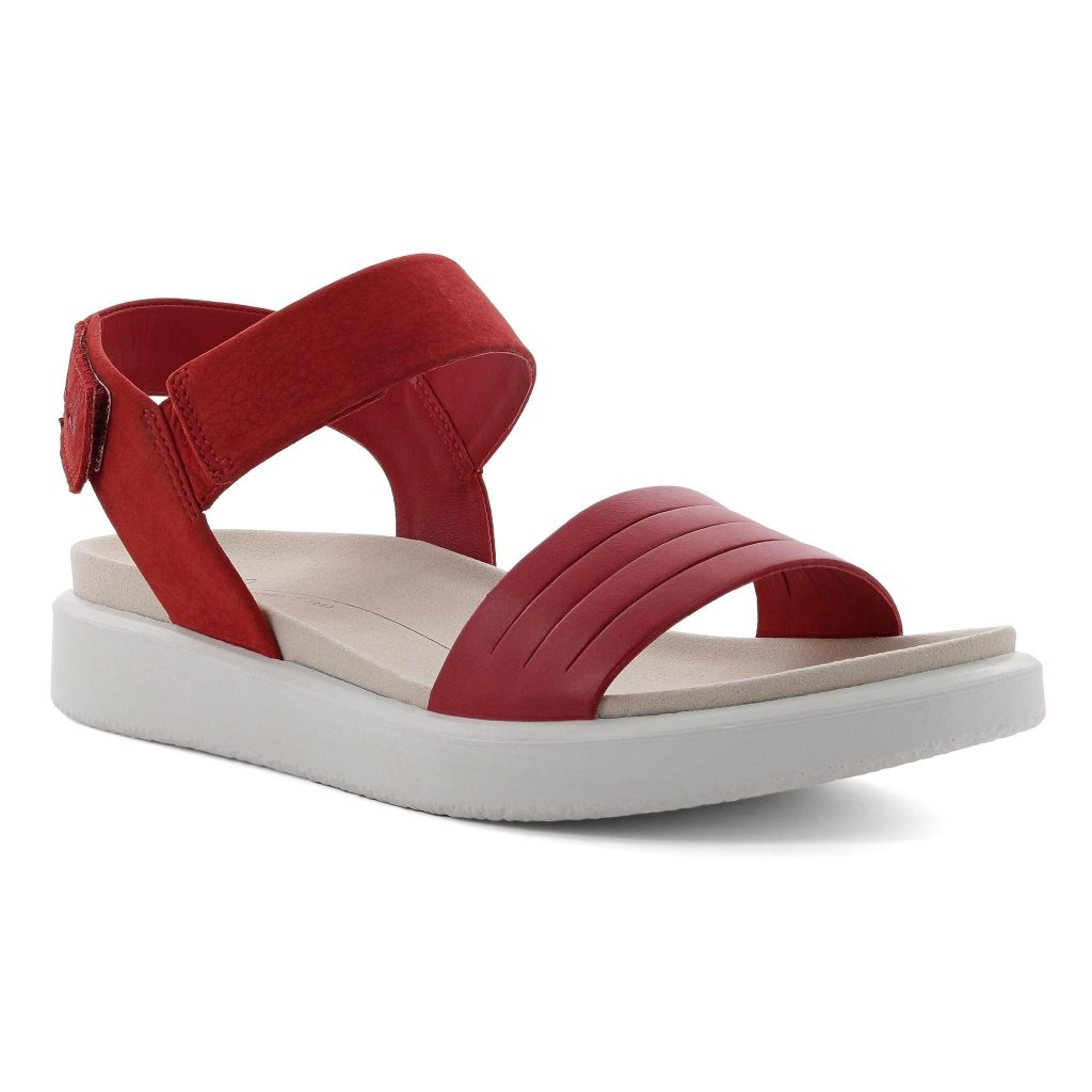 Ecco 273603 Flowt Chilli red sandal  Sizes - 37 to 41   Price £90
