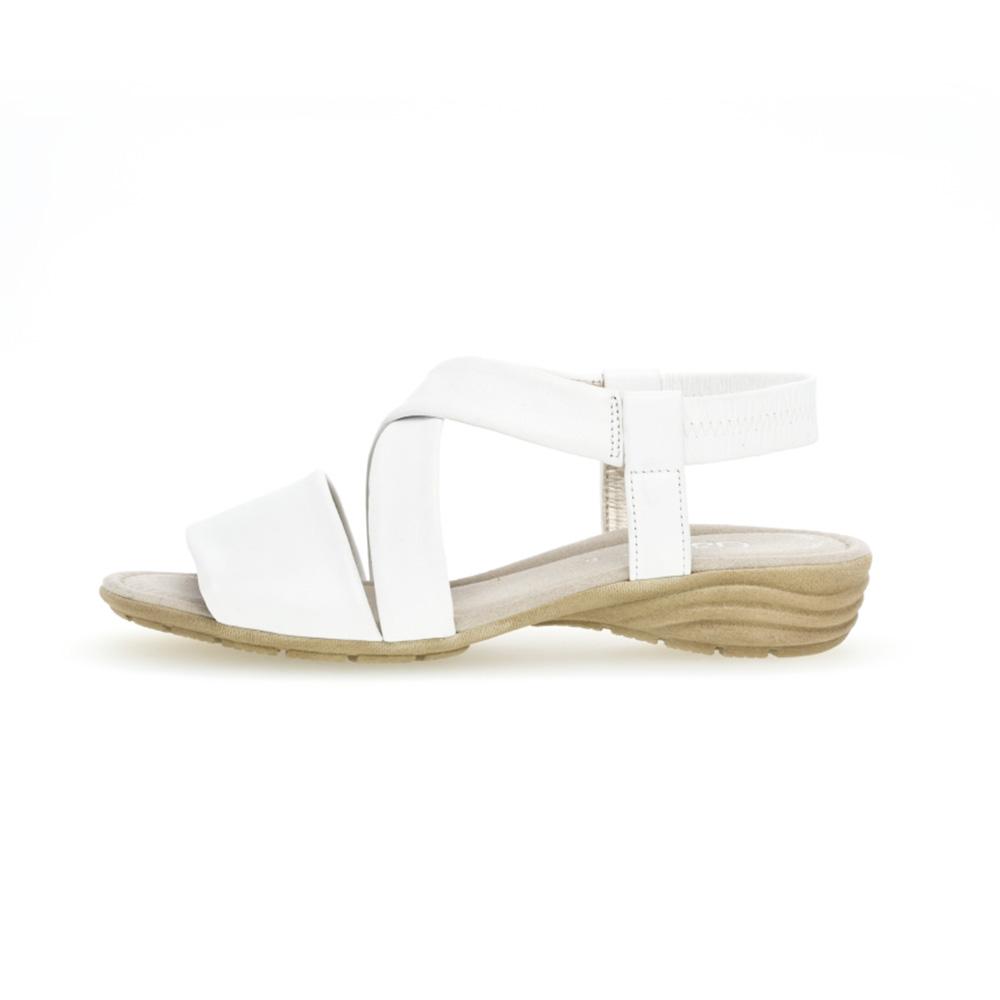 Gabor 44.550.21 Ensign White soft leather sandal Sizes - 4 to 7 Price - £75