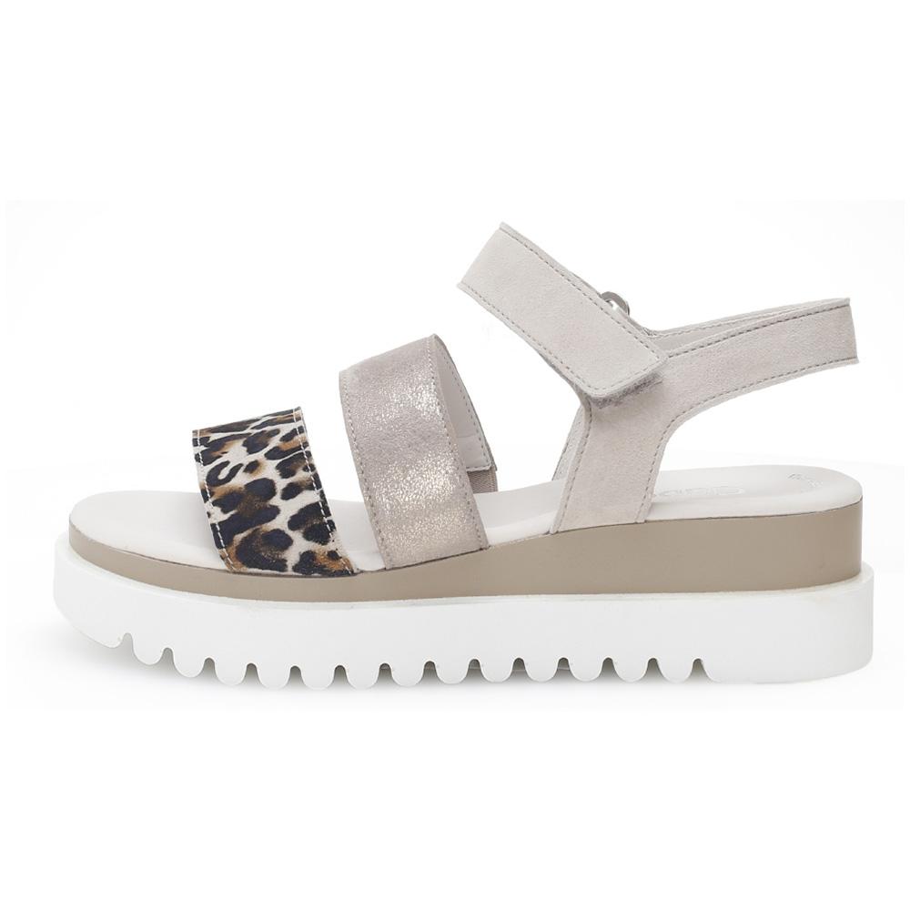 Gabor 44.610.31 Billie Taupe multi strap sandal Sizes - 4 to 7 Price - £85