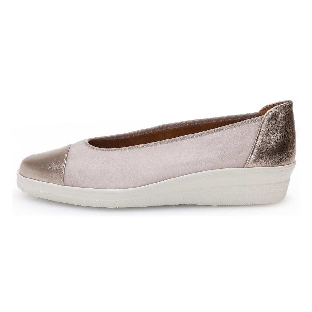 Gabor 46.402.35 Petunia Rose Metallic toe wedge Sizes - 4 to 7 Price - £69