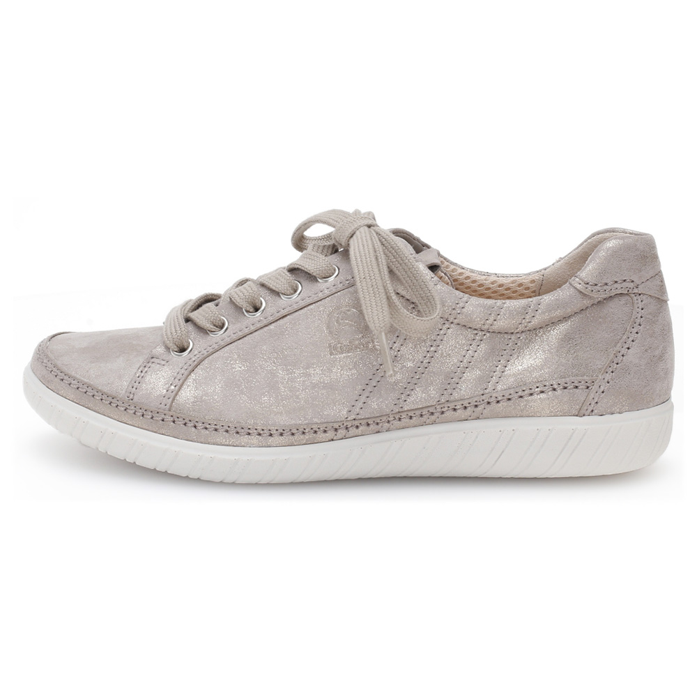 Gabor 46.458.95 Amulet Muschel metallic lace shoe Sizes - Sold Out   Price - £89