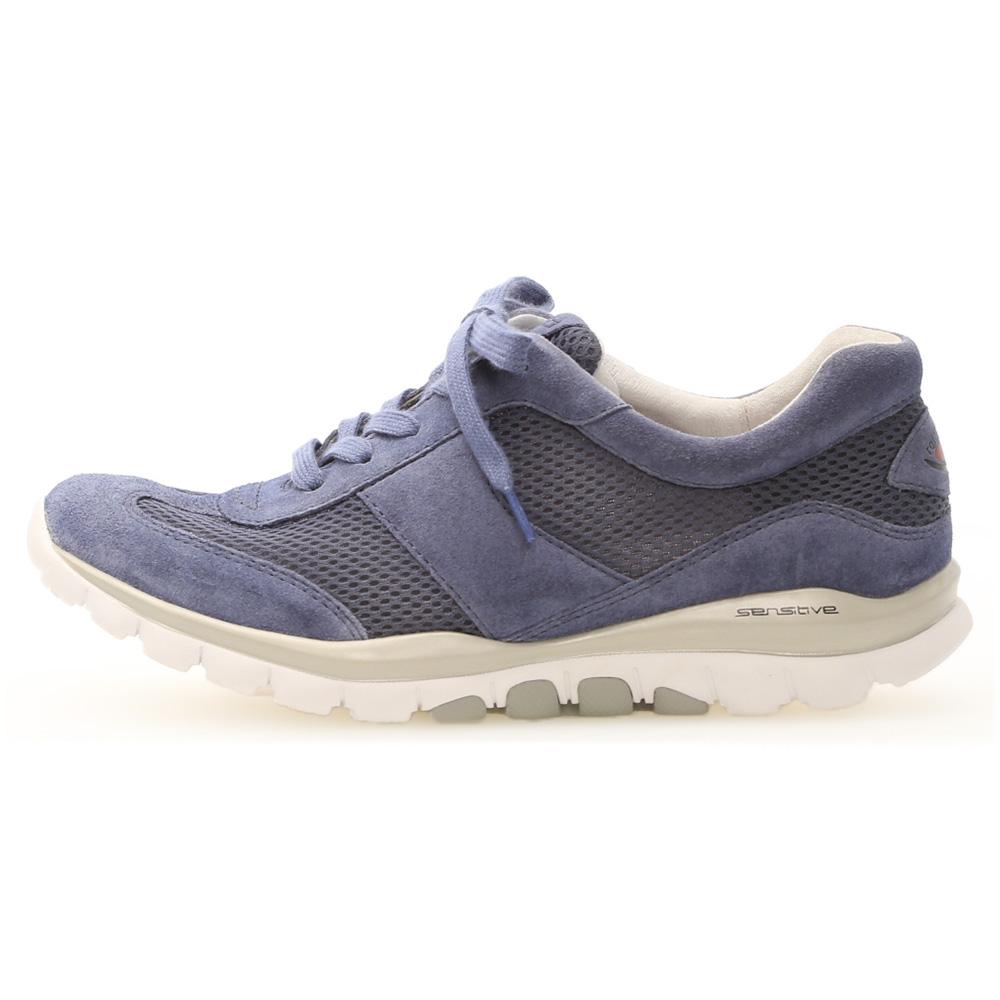 Gabor 46.966.26 Helen Denim mesh nubuck lace shoe Sizes - 4 to 8 Price - £95
