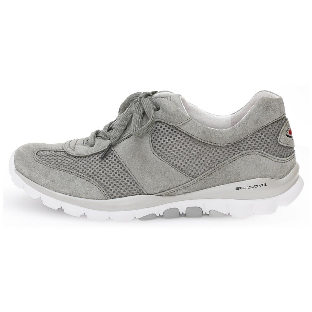 Gabor 46.966.44 Helen Silver grey mesh nubuck lace shoe Sizes - 4 to 7 Price - £95