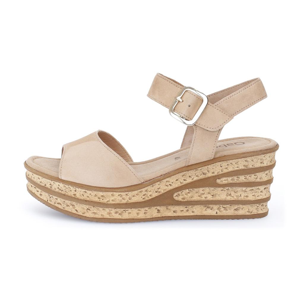 Gabor 64.651.14 Twirl Caramel wedge sandal Sizes - 4 to 6 Price - £75