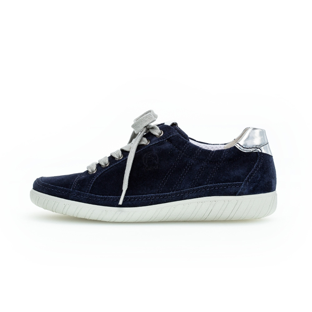 Gabor 66.458.36 Amulet Navy suede lace shoe Sizes - 5 to 8 Price - £89