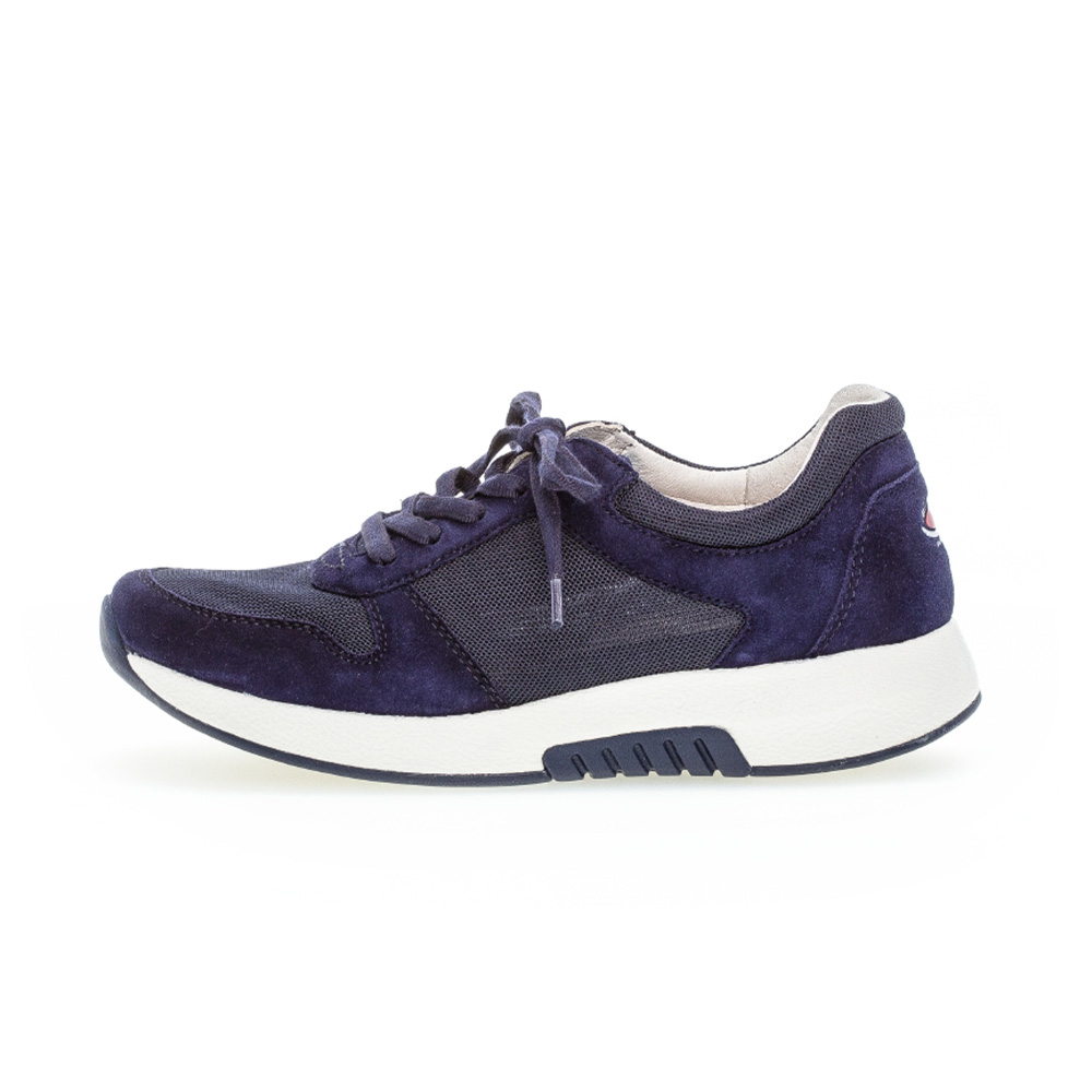 Gabor 66.946.46 Mary Navy mesh suede lace shoe Sizes - 4 to 7 Price - £95
