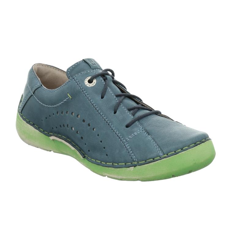 Josef Seibel Fergey 73 Azur lace shoe Sizes - 37 to 41 Price - £85