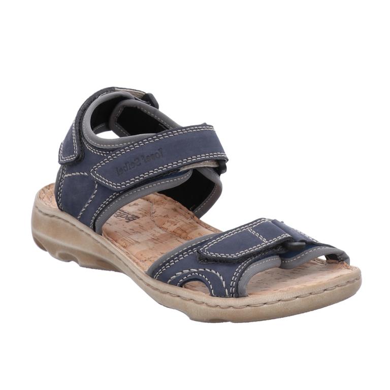 Josef Seibel Lene 01 Navy sandal Sizes - 37 to 42 Price - £79