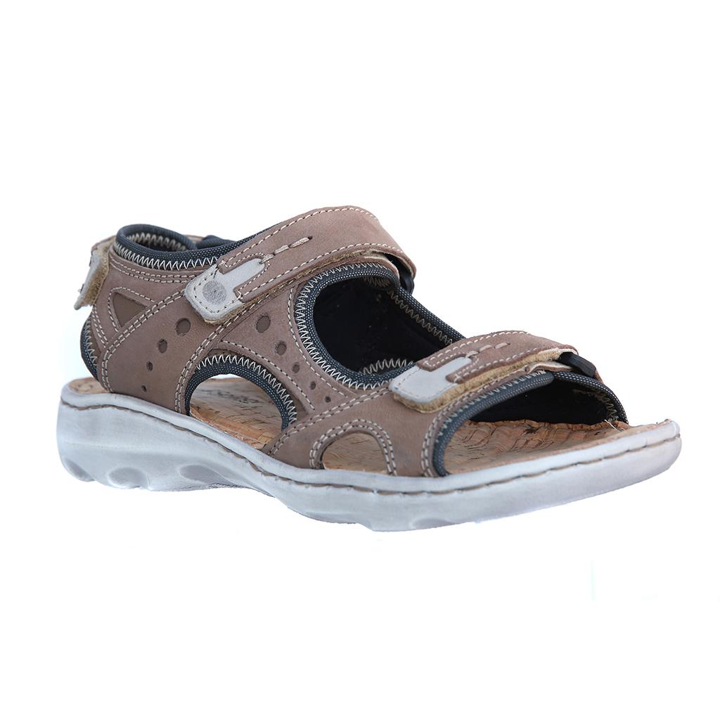 Josef Seibel Lene 02 Taupe combi sandal Sizes - 37 to 41 Price - £79