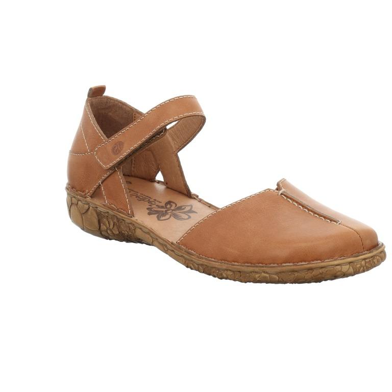 Josef Seibel Rosalie 42 cognac toe in sandal  Sizes - 37 to 41   Price - £69