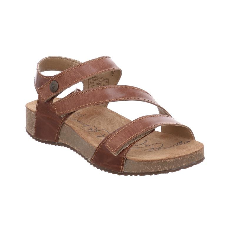 Josef Seibel Tonga 25 camel 3 strap sandal  Sizes - 37 to 41  Price - £75