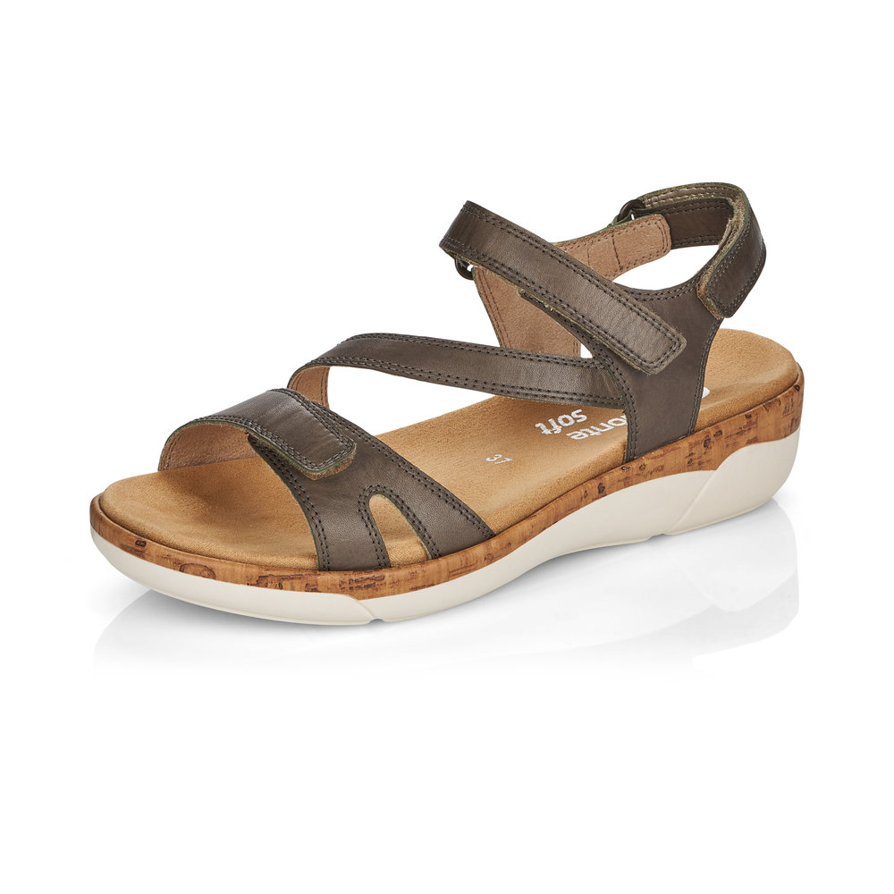 Remonte R6850-54 Forest strap sandal Sizes - 37 to 41 Price - £67