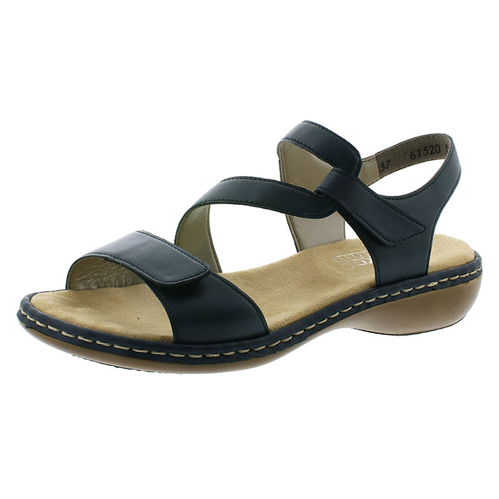 Rieker 659C7-15 navy cross sandal Sizes - 38, 40 and 41. Price - £57