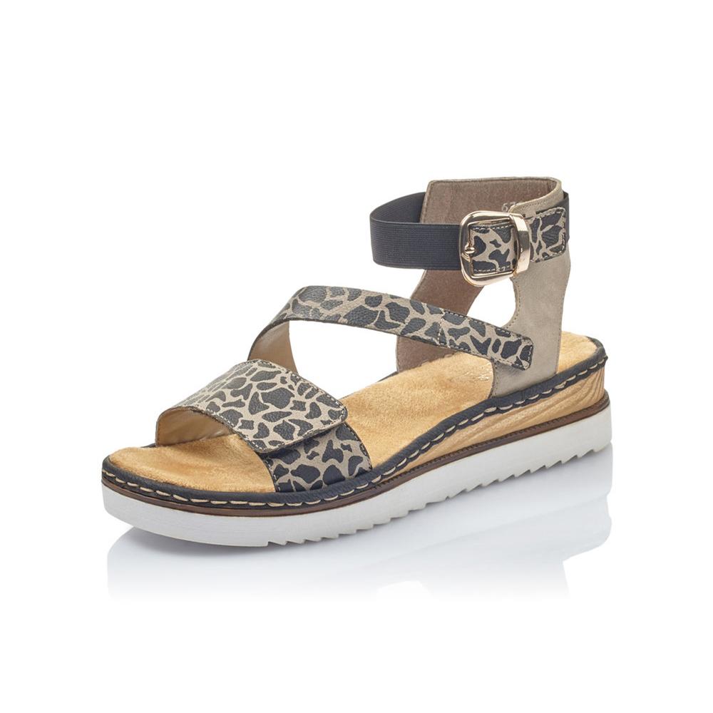 Rieker 67958-26 Multi strap sandal Sizes - 37 to 42 Price - £57 Now £45