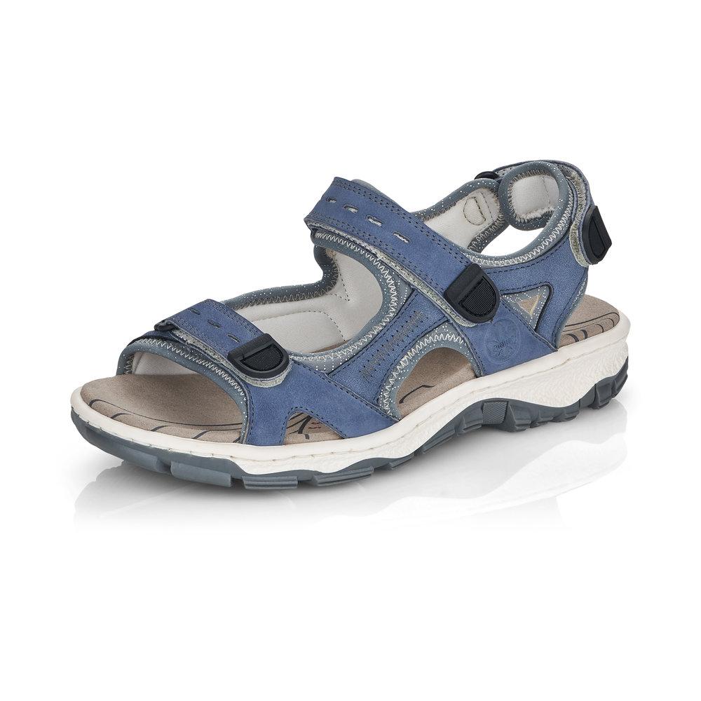 Rieker 68874-14 Jeans strap walking sandal Sizes - 37 to 41 Price - £59 Now £49
