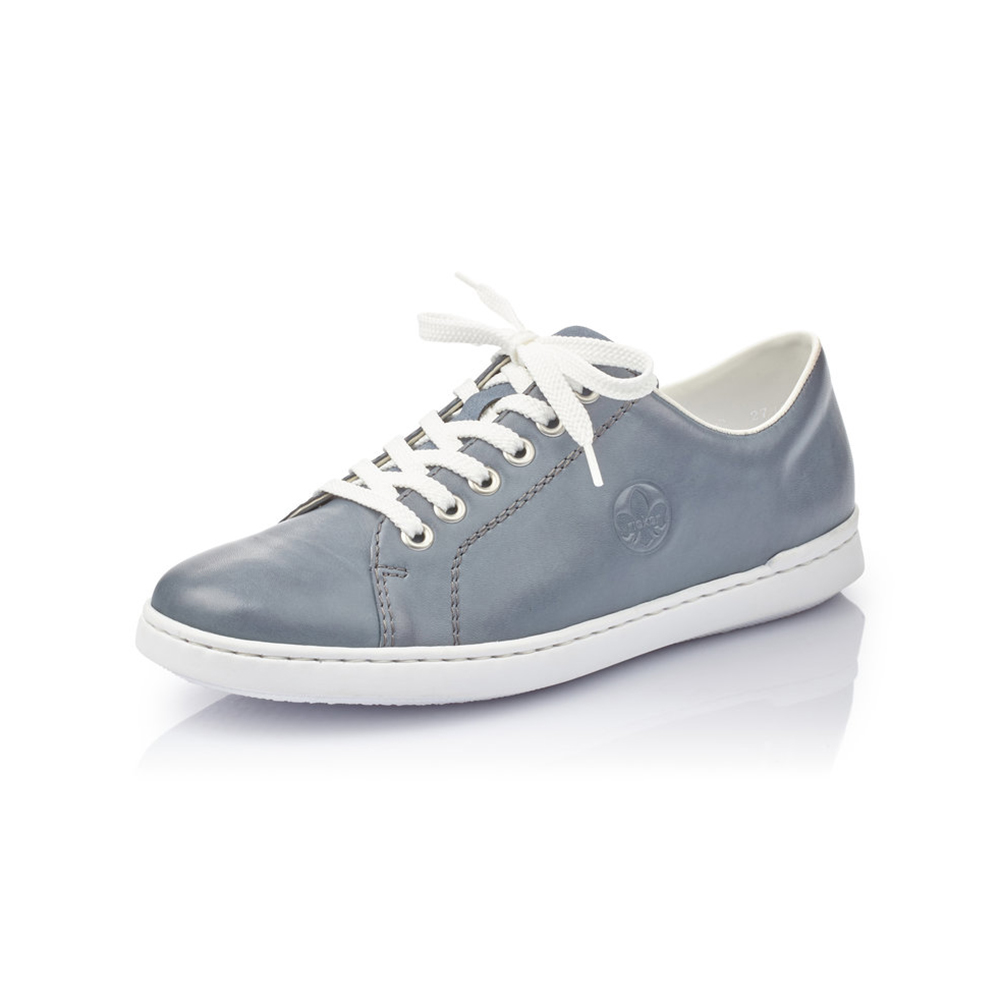 Rieker L2710-10 Blue white lace shoe Sizes - 37 to 42 Price - £57