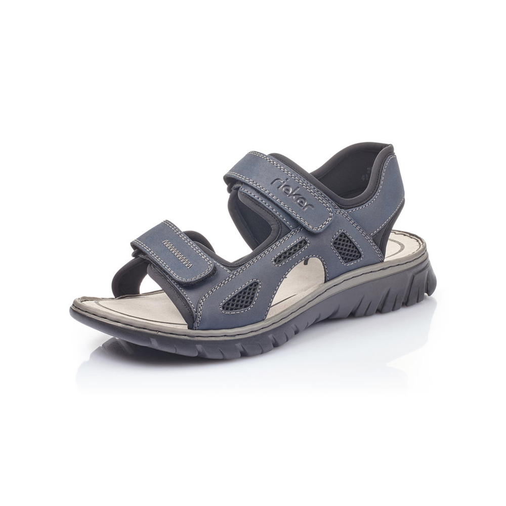 Rieker Mens 26761-14 Navy sandal Sizes - 41 to 45 Price - £55