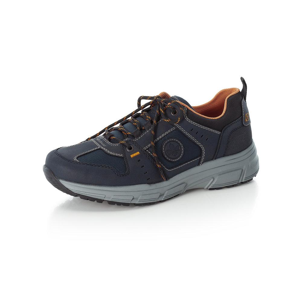 Rieker Mens B6922-14 Navy lace walking shoe   Sizes - 41 to 45   Price - £69