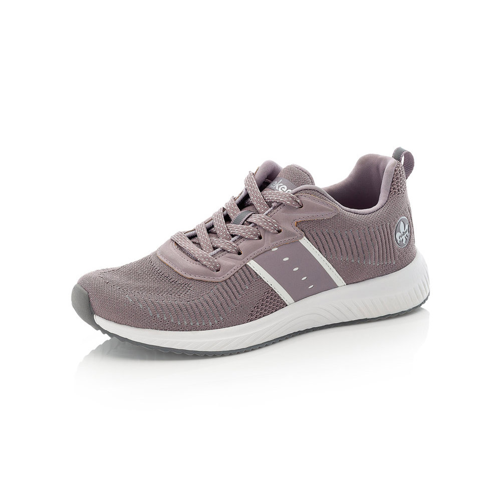 Rieker N9612-30 Mauve lace shoe Sizes - 37 to 41 Price - £62