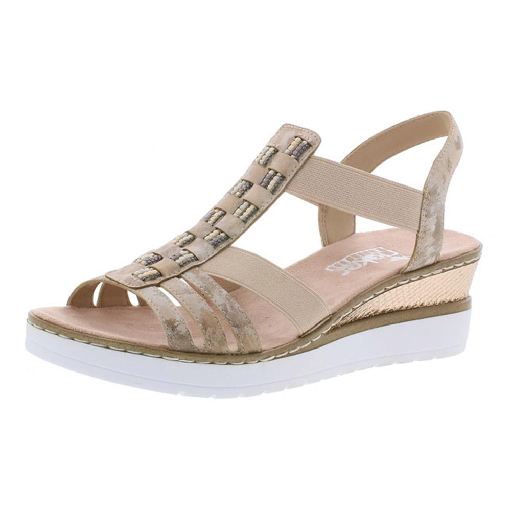 Rieker V3822-31 Rosa strap wedge sandal Sizes - 37 to 41 Price - £55 Now £45