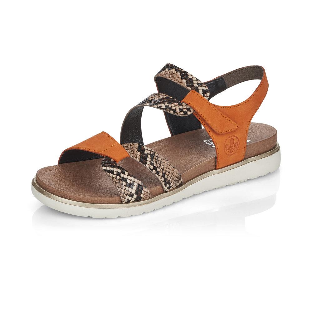 Rieker V5069-24 Mandarin strap sandal Sizes - 37 to 41 Price - £57 Now £49