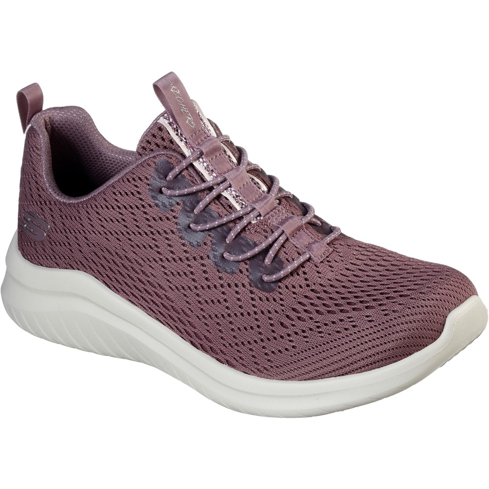 Skechers 13350 Ultra Flex 2 Mauve Bungee Sizes - 5 and 6 Price - £62
