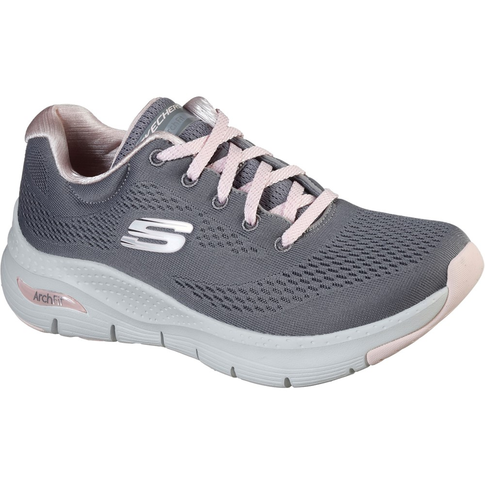 Skechers 149057 Arch Fit Grey Pink Lace Sizes - 4, 5 and 6 Price - £79