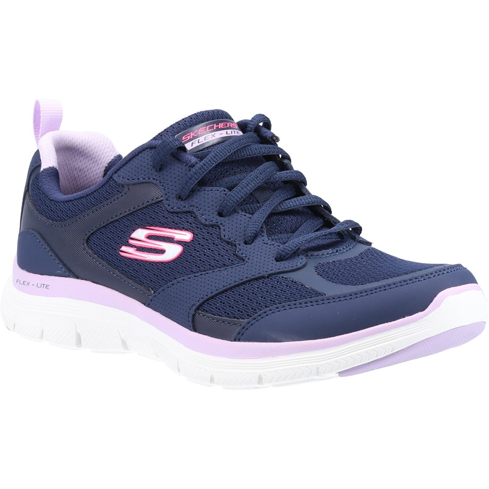 Skechers 149305 Flex Appeal 4 Navy Lace Sizes - 5 and 6 Price - £59