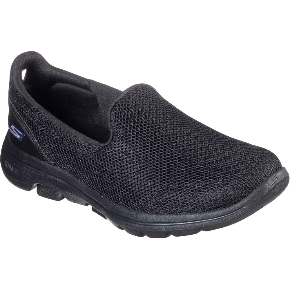 Skechers 15901 Go Walk 5 All Black Sizes - Sold Out Price - £59