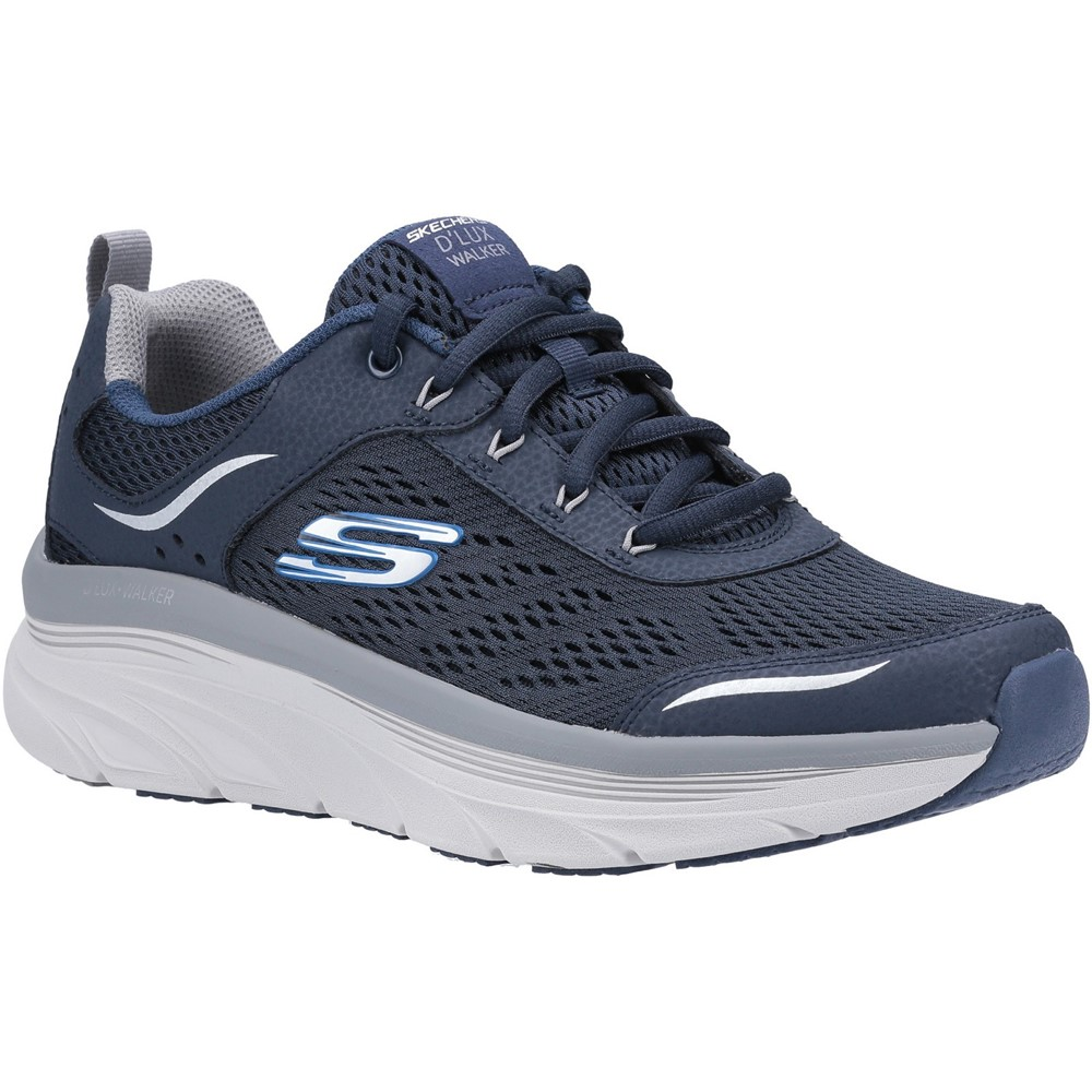 Skechers Mens 232044 Dlux Walker Navy Lace Sizes - Sold Out Price - £69