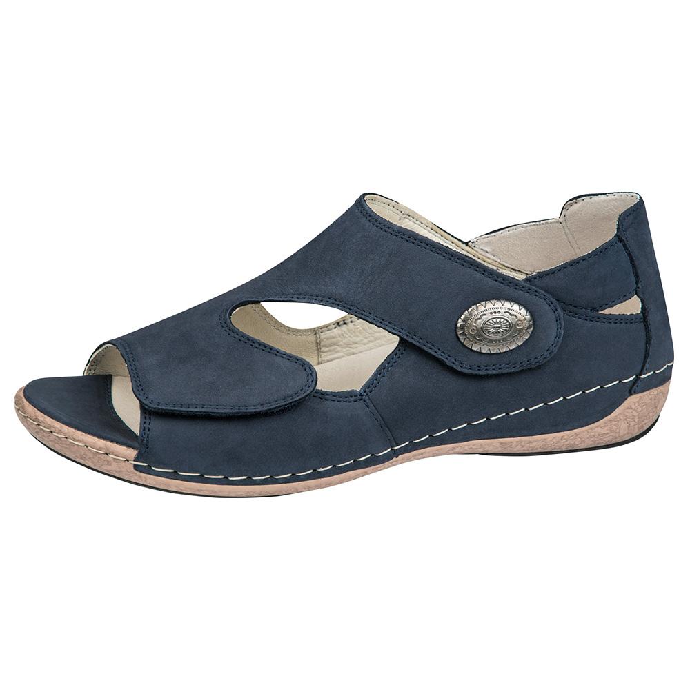 Waldlaufer 342021 Heliett Navy twin strap sandal Sizes - 5 to 8 Price - £62