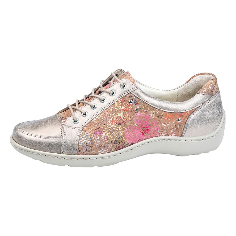 Waldlaufer 496005 Henni Gold multi metallic lace shoe Sizes - 4 to 7 Price - £72
