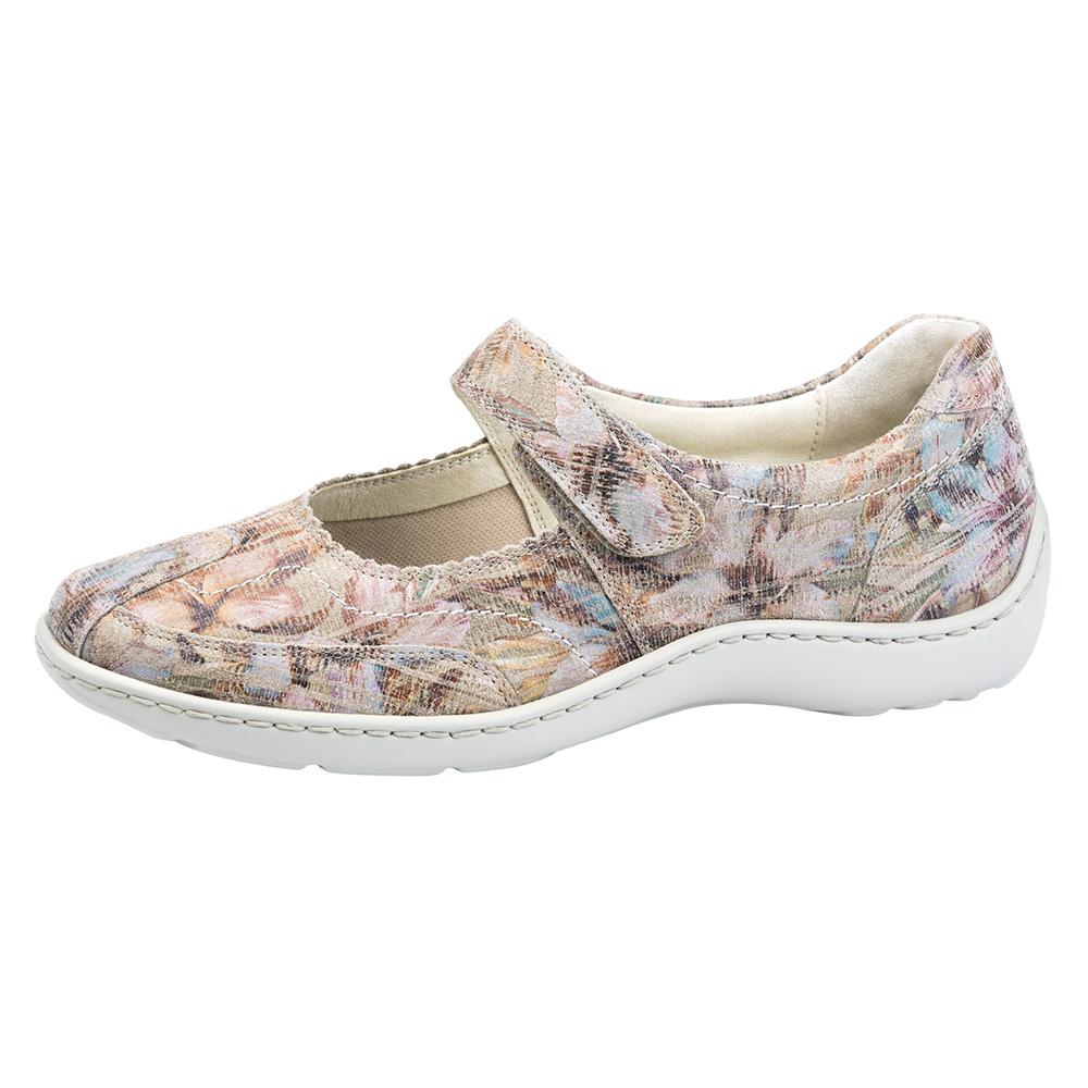Waldlaufer 496302 Henni Beige multi bar shoe Sizes - 4 to 7 Price - £75