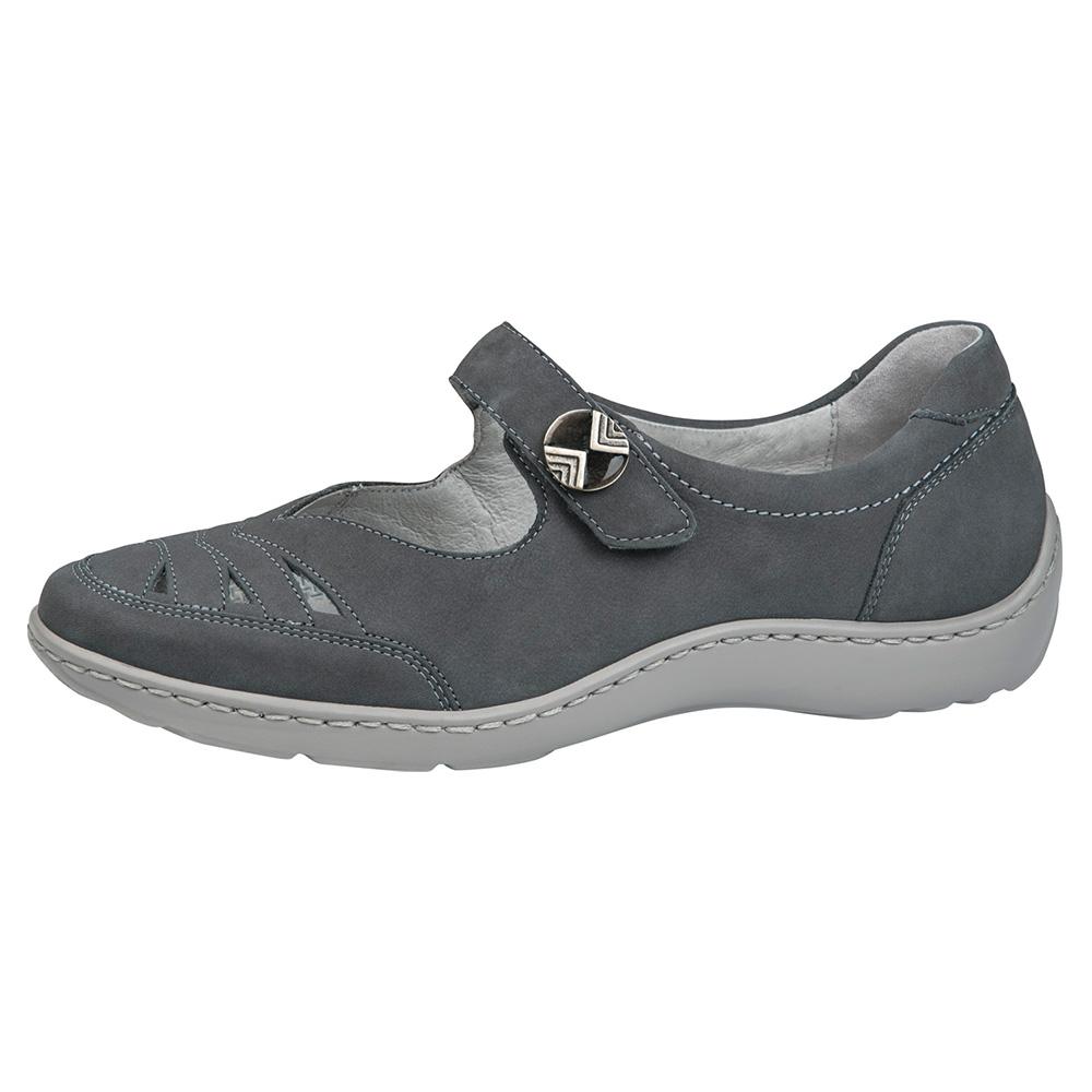 Waldlaufer 496309 Henni Grey bar shoe Sizes - 4 to 7 Price - £75